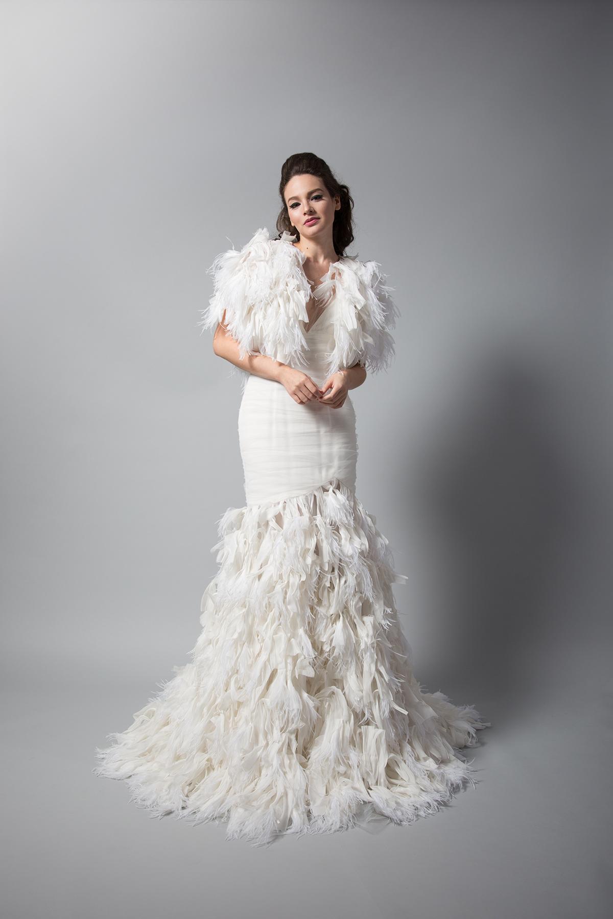 Iris Gown w/ Bolero