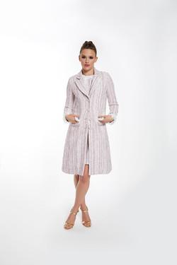 DAISY TWEED DRESS COAT