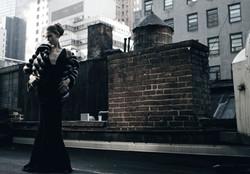 Black Diamond Gown w. Fur