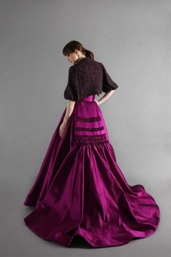 Royce skirt & jacket-back