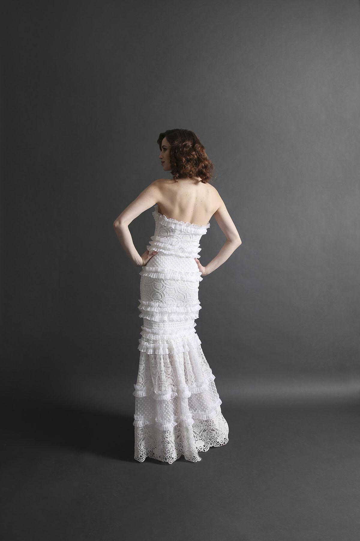 Laurie Ann Ruffle Gown