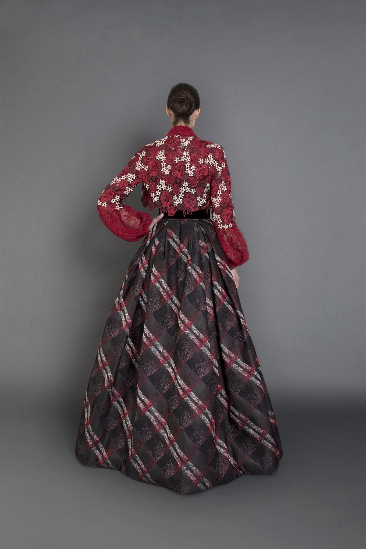 Tatiana gown w Bolero-B