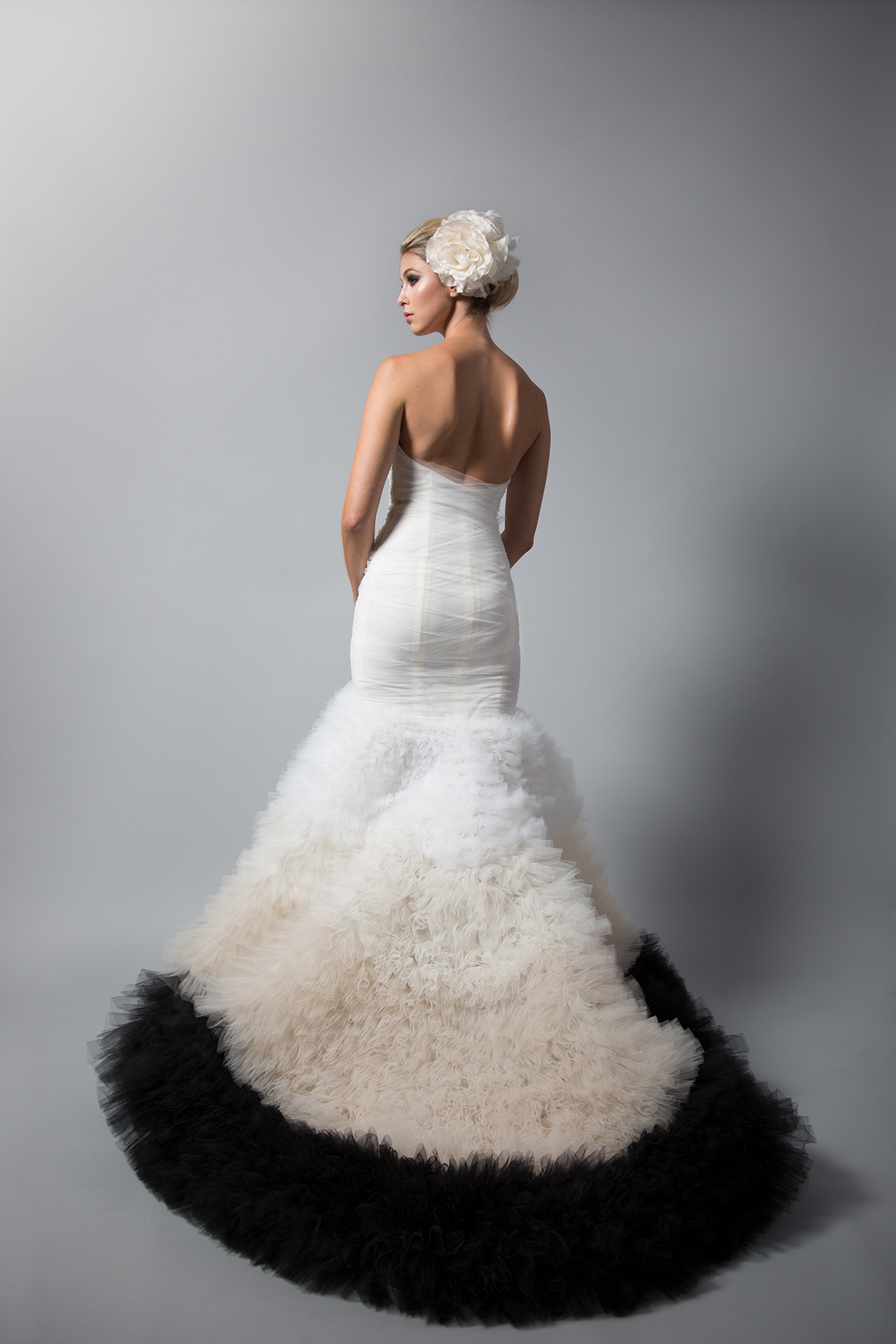 Vergera Ombre Gown