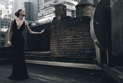 Black Diamond Gown