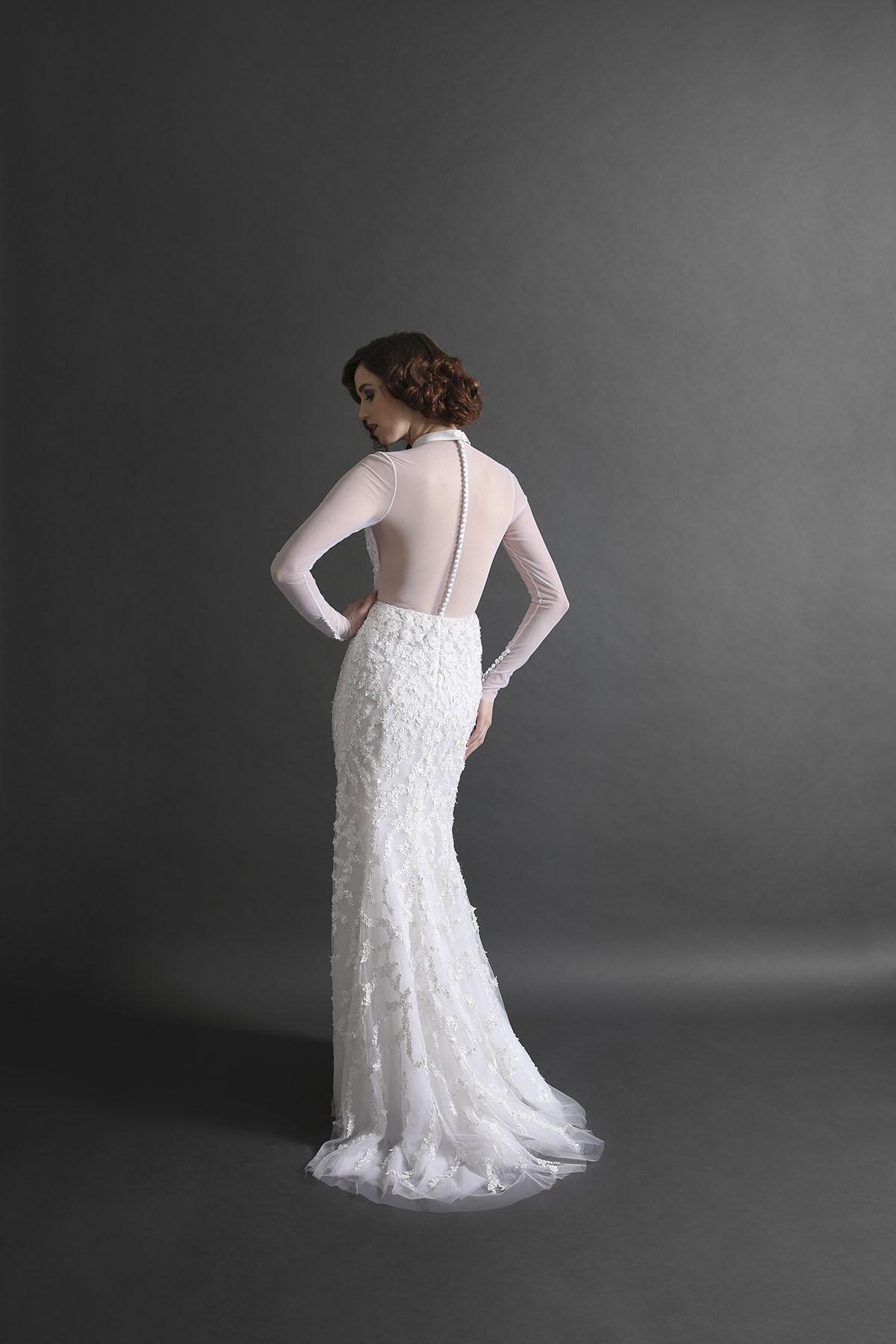 Raquell Illusion Gown
