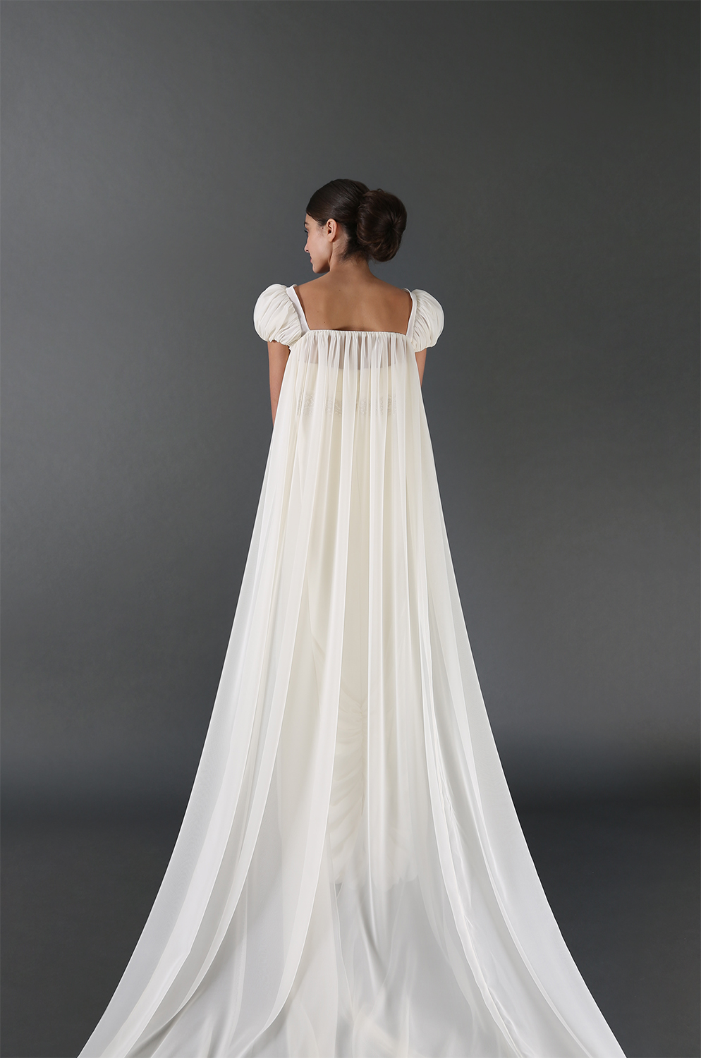 Linda Gown with Cape