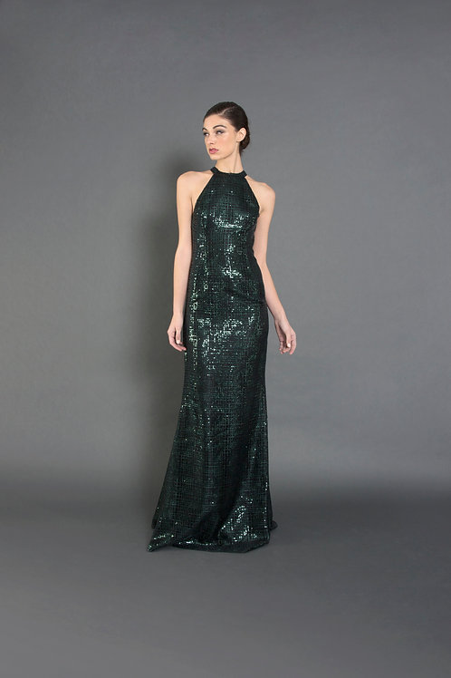 Sequin Silvia Gown - Size 4