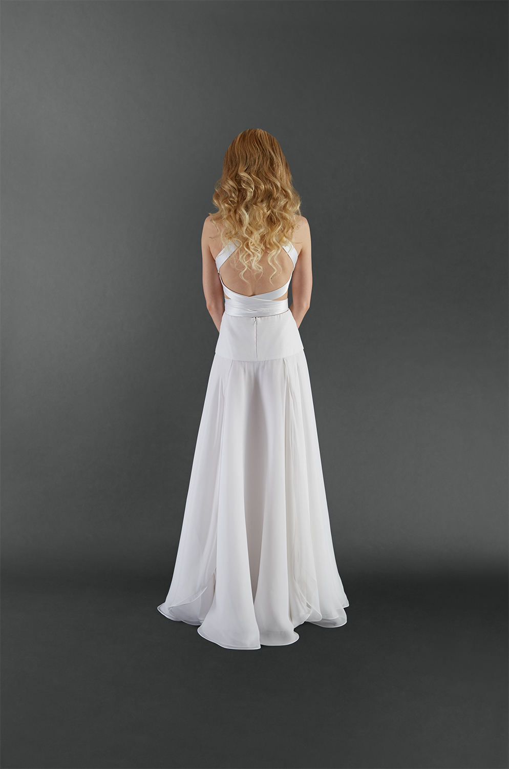 White Rose Gown-B