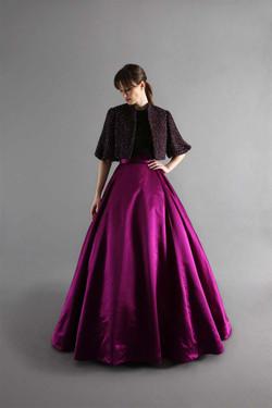 Royce skirt & jacket-front