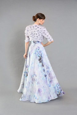 Sunny Strapless Floral Gown