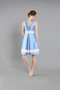 Ruby Rose Blue Cocktail -front