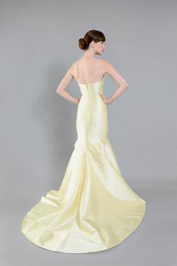 Ali Yellow Ball Gown-front