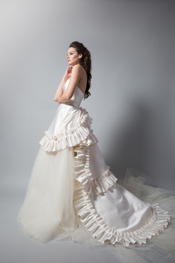 Annetina Gown w/ Tulle