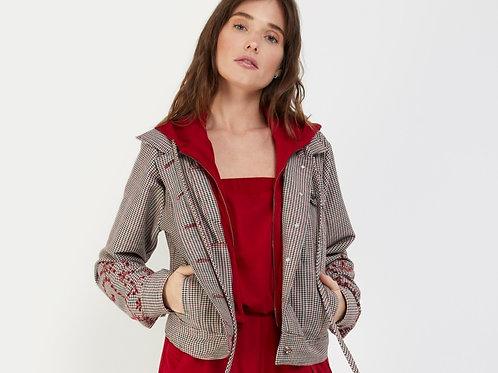 Denim Jacket With Inserts