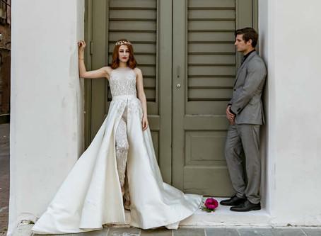"Randi Rahm's ""Gwen Stefani"" Wedding Dress"