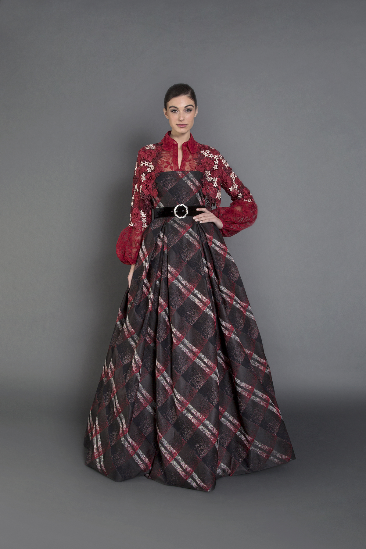 Tatiana gown w Bolero-F
