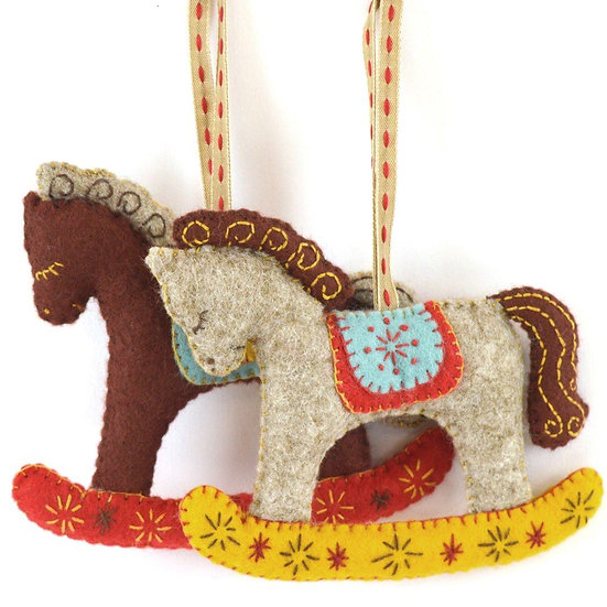 Rocking Horses - Felt Craft Kit