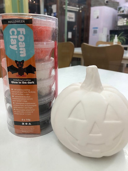 Pumpkin & Foam clay takeaway kit