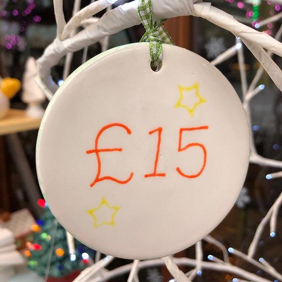 £15 Gift Token