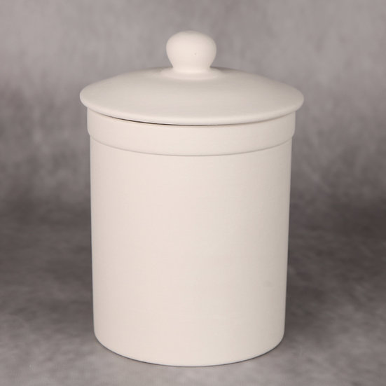 Large canister with seal - 19cm x 13cm