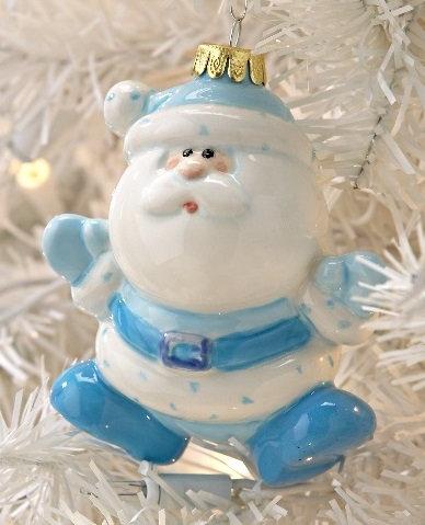 3d Santa bauble
