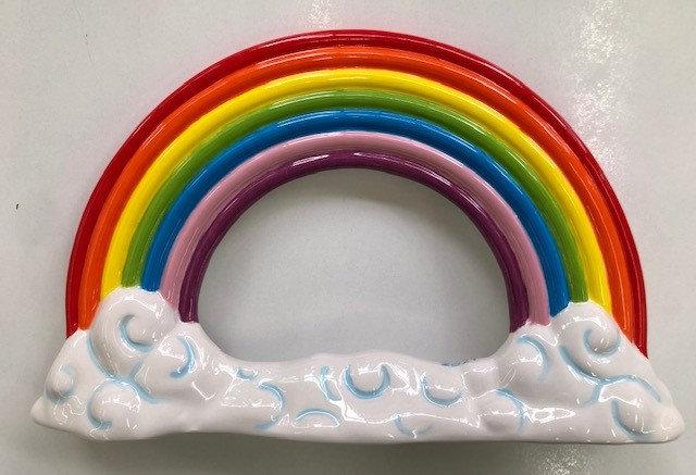 Rainbow photo frame 25cm x 14.5cm