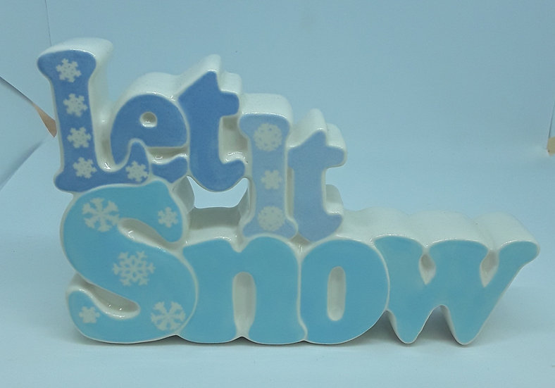 Let It Snow word