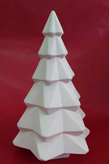 Large Faceted Tree - 26cm h