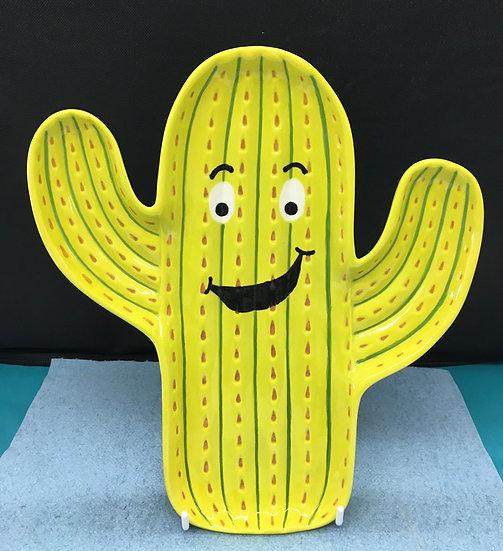 Cactus Dish 23.5 x 21cm