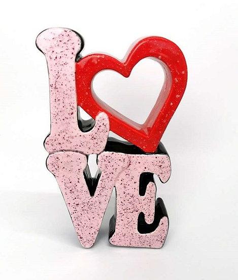 Standing LOVE word