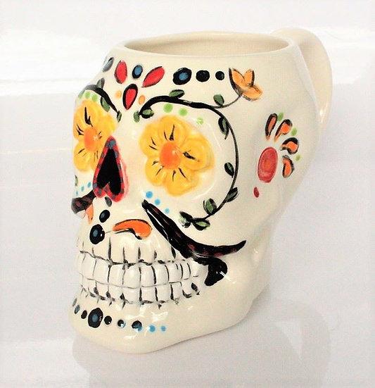 Sugar Skull Mug (pretty huge!)