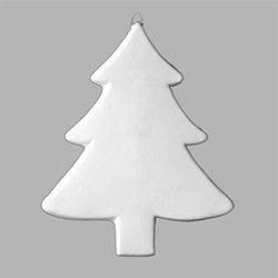 Large flat plain tree ornament