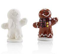 Med Gingerbread figure - 12.7cm x 10.2cm