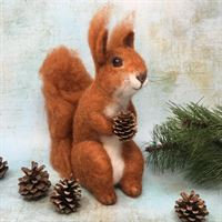 Red Squirrel - Needle Felting Kit
