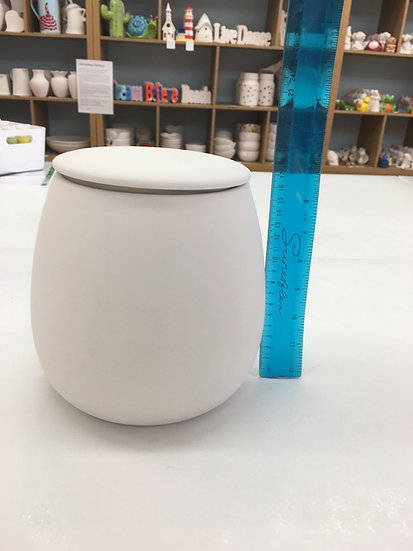 Family-sized Cookie Jar, great for handprints!