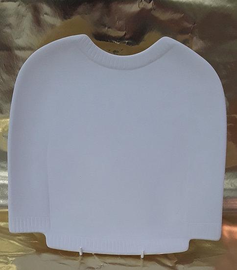 """Sweater Plate - 10""""l x 10""""w"""