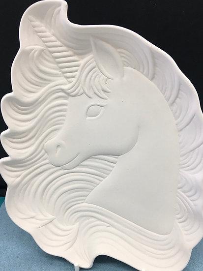 Unicorn Dish 16 x 23cm