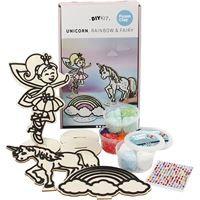 Unicorn Themed Wooden Craft Set