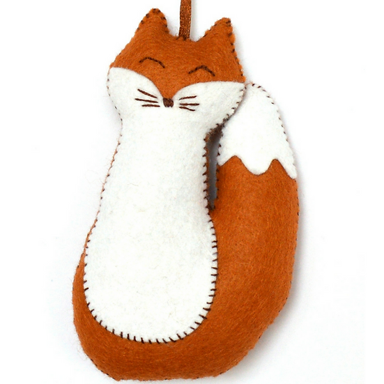 Fox - Mini Felt Craft Kit