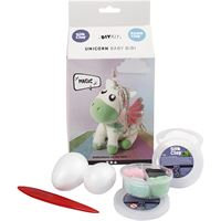 Unicorn Foam Clay Kit- pastel green