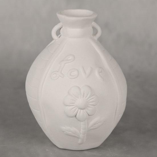 Funky Love Flower Bud Vase 10 x 12.5cm