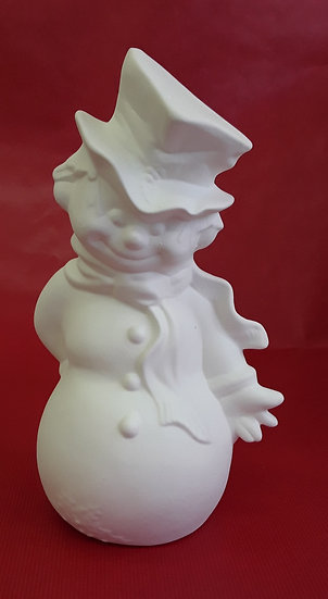 Victorian style Snowman - 25cm h