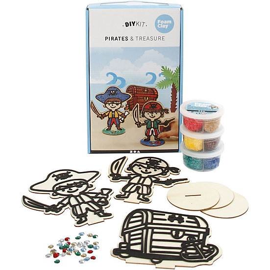 Pirate Themed Wooden Craft Set