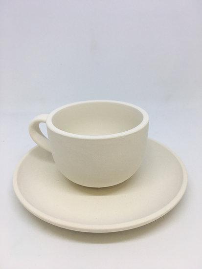 Coffee / Espresso mug with Saucer
