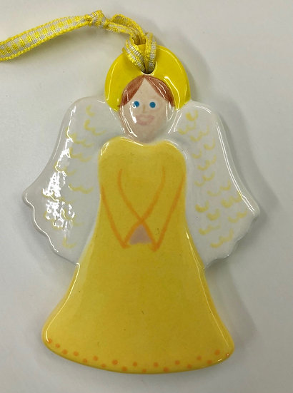 Angel flat tree decoration