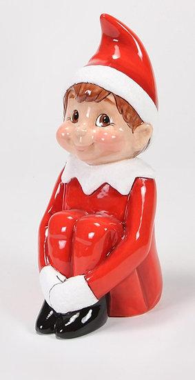 Large Elf on the Shelf - 26cm h x 15cm w