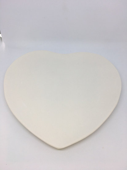 Large Heart Plate 28cm wide
