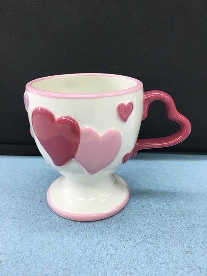 Small (child-sized) Love hearts mug