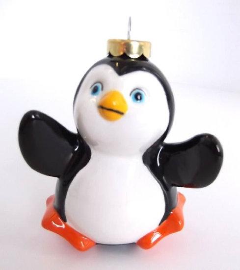 3D Penguin bauble