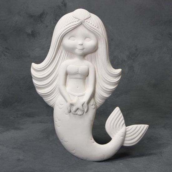 Large Mermaid Plaque